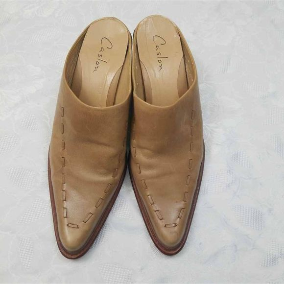 Caslon Womens Mules Pointed Toe Slip On 8.5 M